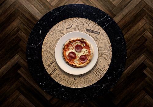 Pizza Maria avec Salami