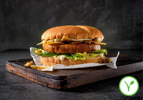SEIZOENSDEAL | Veggie burger 100% Vegan!