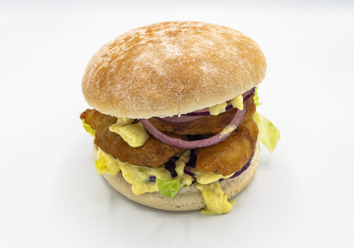 Kibbeling Burger