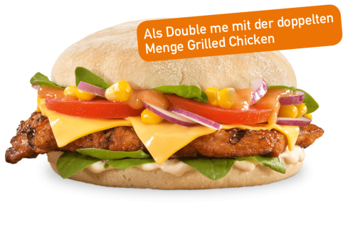 Piri Piri Chicken Burger Double me