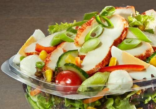 Salat Chicken Primavera