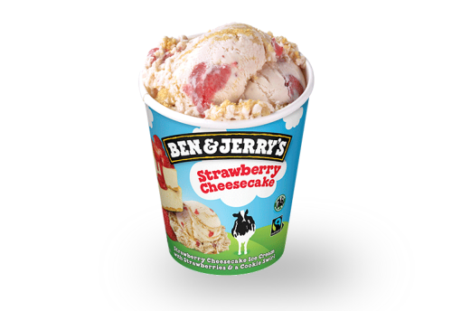 Ben & Jerry's Strawberry Cheesecake