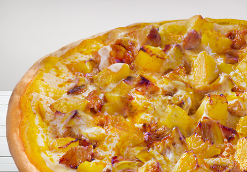 Pizza Chicken Curry (Single)