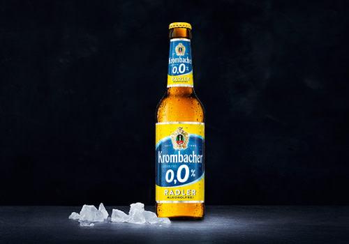 Krombacher Radler 0,0% 0,33l