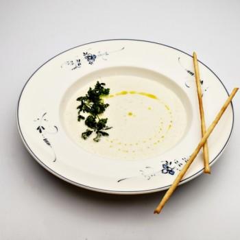 Getrüffelte Topinambur-Suppe