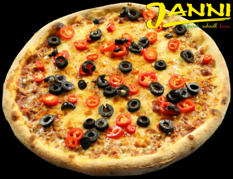 Pizza Pizzamore (scharf)