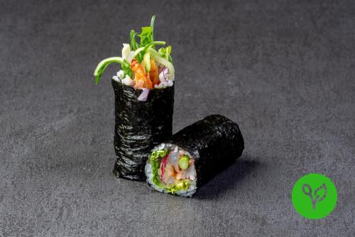 Sushi Burrito mit Garnelen