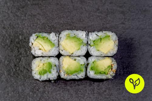 Abokado Maki (6 Stück) (vegan)