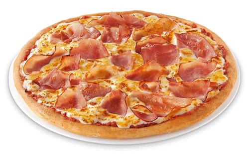 Pizza Schinken (groß)