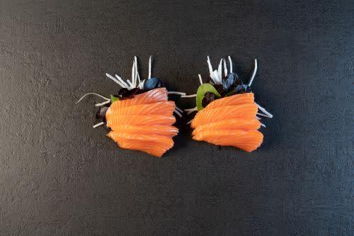 Sake Sashimi (9 Stück)