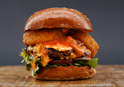 Cheese Bomb Burger (double)