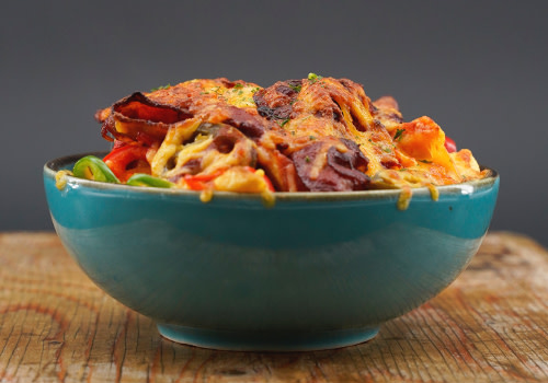 Chili Bacon Fries  (groß)