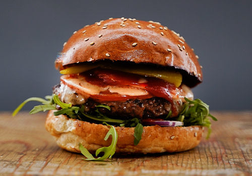 Italy Burger (double)