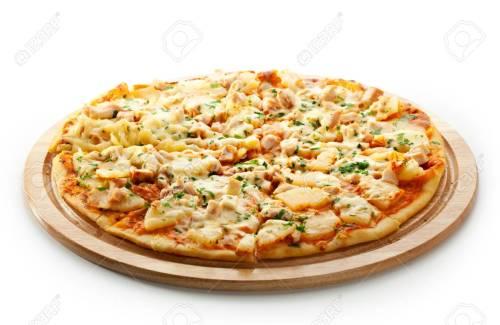 Pizza Chicken & Curry (klein)