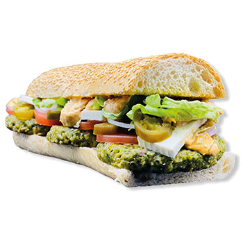 29 Croque Green Oat Burger Normal