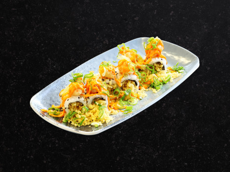 Crunchy Vulcano Roll (6 Stk.)