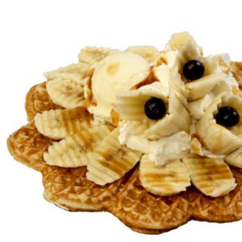 Bananen-Waffel