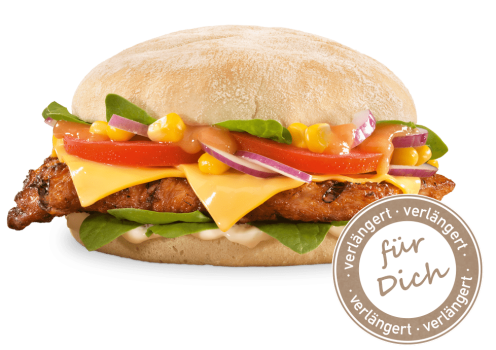 Pir Piri Chicken Burger
