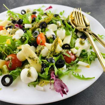 Lieferservice Essen bestellen & liefern lassen von Salathelden | Don Spargelito