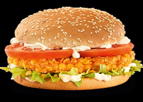 Vegan Crunchy burger