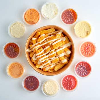 Crispy Chicken Cheese  Fries