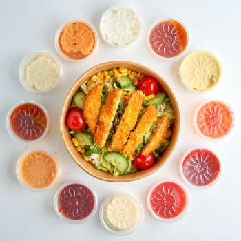 Crispy Chicken Salat