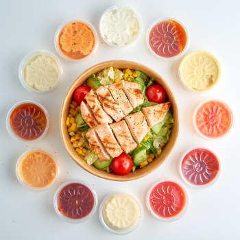Grill Chicken Salat