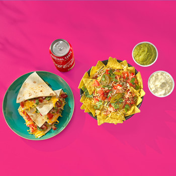 Nachos Texan Style & Quesadilla