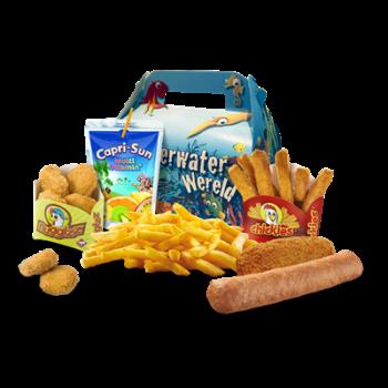 Big Bread Kids Box menu