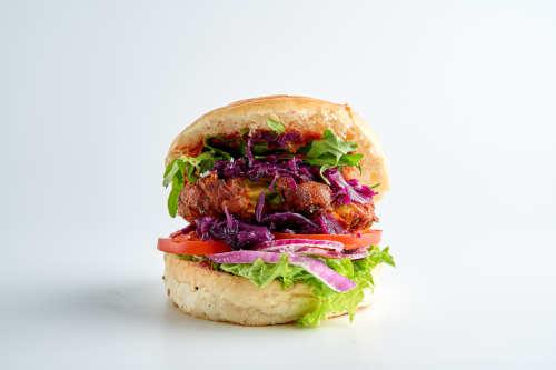 Hulk-Gemüse Burger Vegan