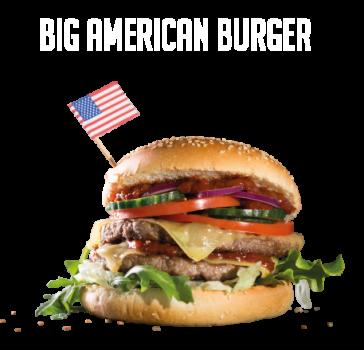 Big American Burger Menu