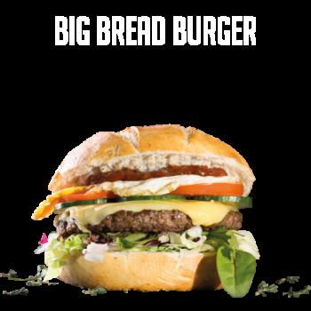 Big Bread Burger Menu