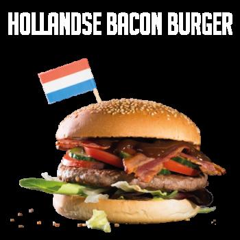 Hollandse Bacon Burger Menu