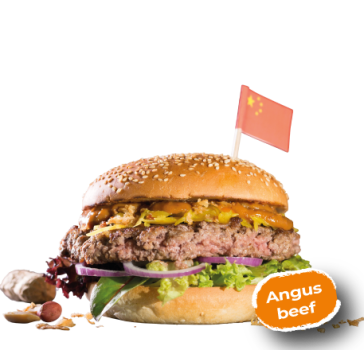 Big Chinatown Burger Menu