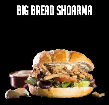 Big Bread Shoarma Menu