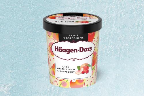 Häagen-Dazs Juicy White Peach & Raspberry