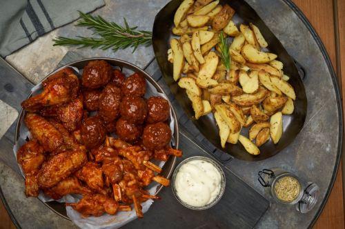 Gratis portie snacks bij een Kipperijmenu