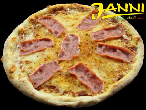 5hg. GLUTENFREI Pizza Prosciutto (Hinterschinken) 30cm