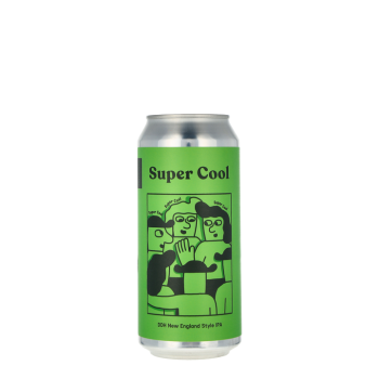 Super Cool NE IPA 0,44L Canned Beer