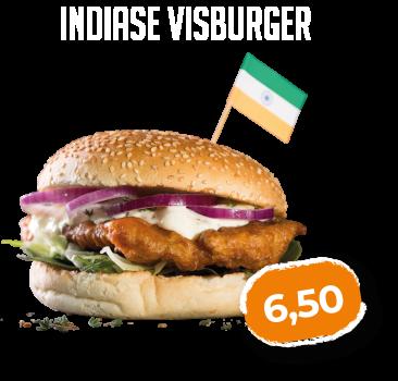 Indiase Visburger