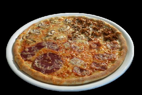 Pan Pizza 4 Stagioni