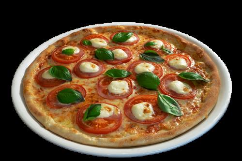 Pan Pizza Caprese