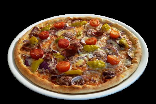 Pan Pizza Sucuk