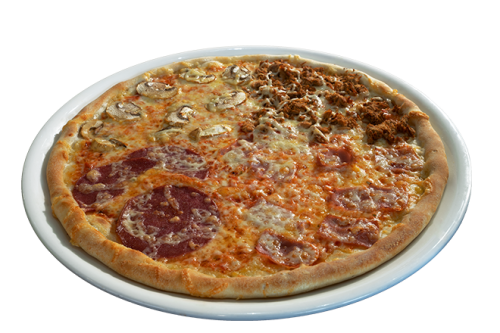 Pizza 4 Stagioni 40x60cm