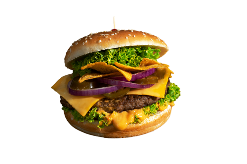 Cheddar Cheeseburger Menü