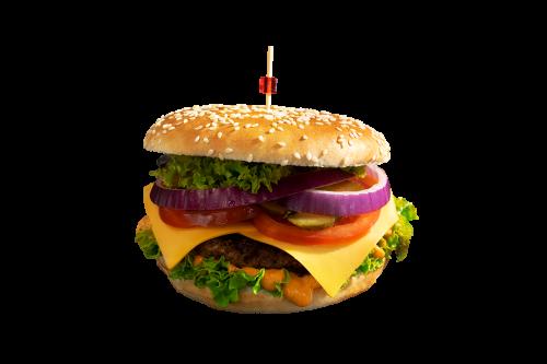 Cheese Burger Menü