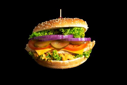 Chicken Filet Burger Menü
