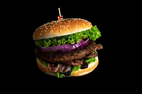 Texas-Bacon Burger Menü