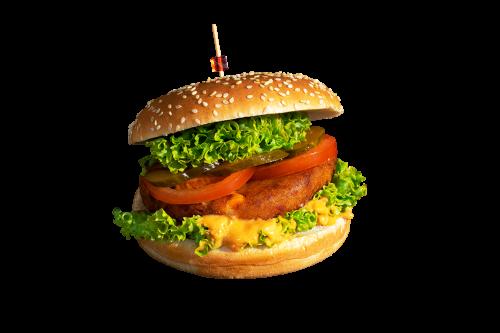 Veggie Burger Menü
