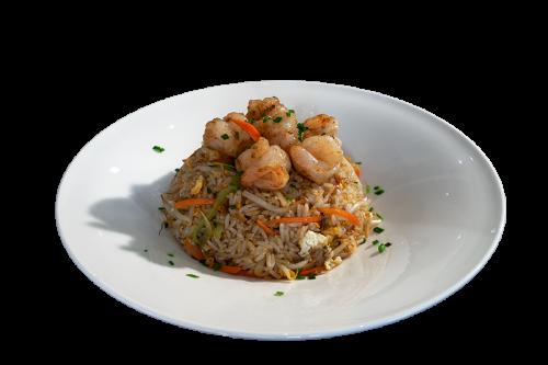 Reisgericht mit Hummerkrabben